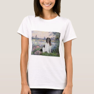Newfie Landseer 3 - By the Seine T-Shirt