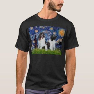 Newfie Landseer Pair - Starry Night T-Shirt