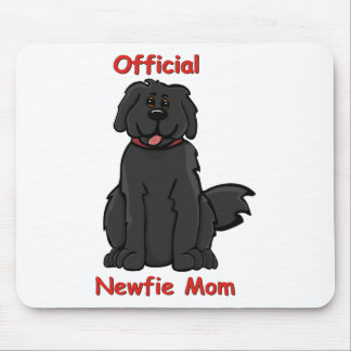 Newfie Mom Mouse Pad