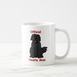 Newfie Mom Classic White Coffee Mug