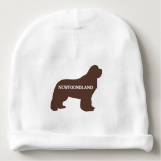 newfie name silo brown baby beanie
