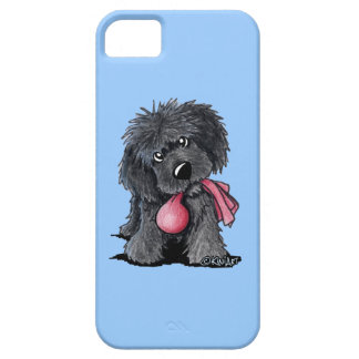 Newfie Puppy with Toy iPhone 5 Covers