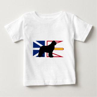 newfie silo on Flag_of_Newfoundland_and_Labrador.p Baby T-Shirt