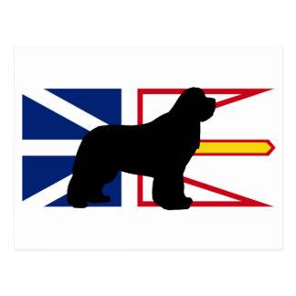 newfie silo on Flag_of_Newfoundland_and_Labrador.p Postcard