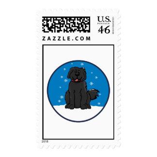 Newfie Snow Stamp