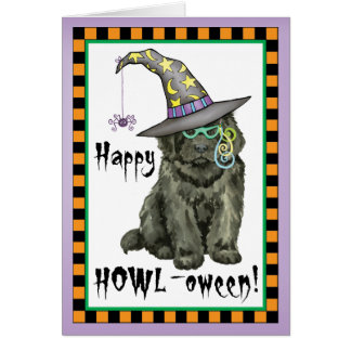 Newfie Witch Card
