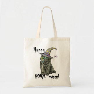 Newfie Witch Tote Bag