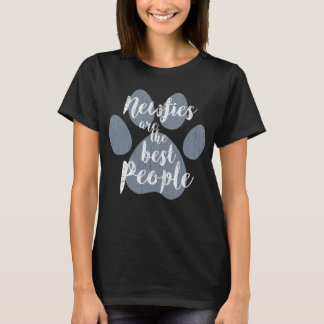 Newfies are the Best People T-Shirt