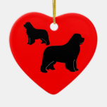 Newfies, newfies and more newfies! ornament