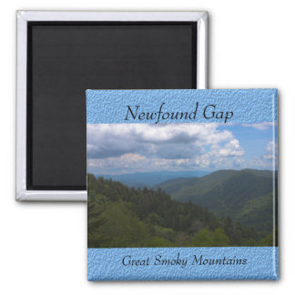 Newfound Gap, Great Smoky Mountains Photo Magnet Refrigerator Magnets