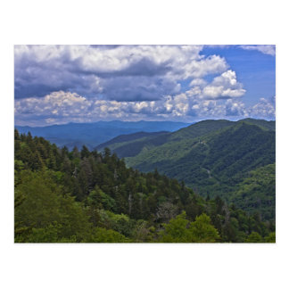 Newfound Gap, Great Smoky Mountains Postcard