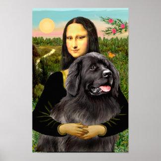 Newfoundland 2 - Mona Lisa Poster
