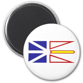 Newfoundland and Labrador, Canada 2 Inch Round Magnet