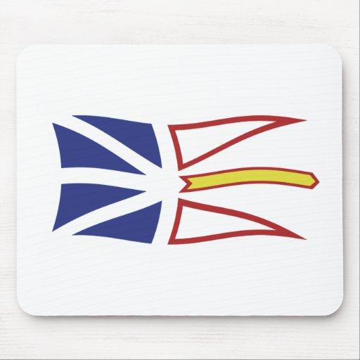 Newfoundland And Labrador Flag Mousepad