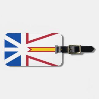 Newfoundland and Labrador Travel Bag Tag
