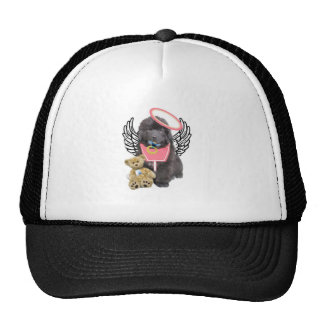 Newfoundland angel trucker hat
