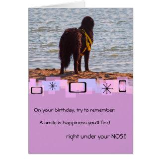 Newfoundland Birthday Greeting Card