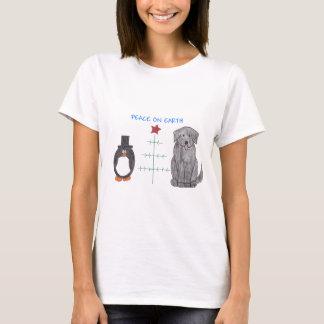 Newfoundland Black Peace On Earth T-Shirt