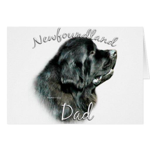 Newfoundland (blk) Dad 2 Card