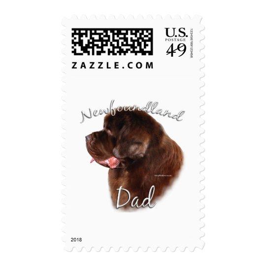 Newfoundland (brown) Dad 2 Postage