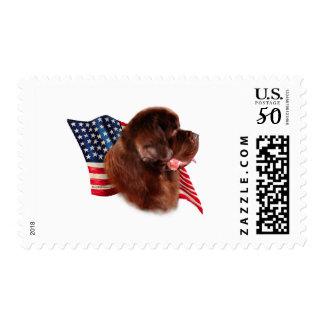 Newfoundland (brown) Flag Postage