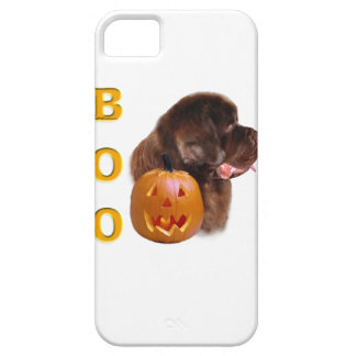 Newfoundland Brown Halloween BOO iPhone SE/5/5s Case