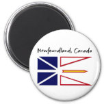 Newfoundland Canada 2 Inch Round Magnet