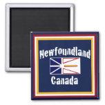 Newfoundland Canada 2 Inch Square Magnet