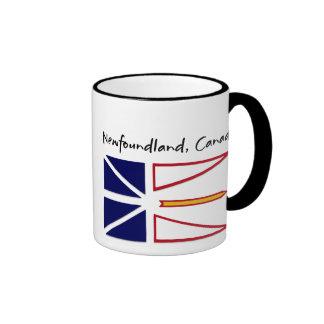 Newfoundland Canada Ringer Coffee Mug