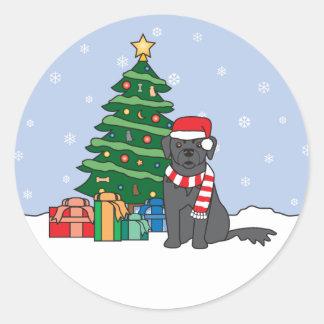 Newfoundland Christmas Sticker