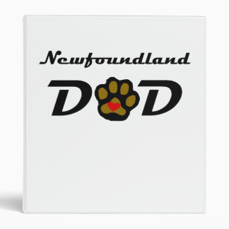 Newfoundland Dad 3 Ring Binder
