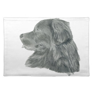 Newfoundland Dog 32 Place Mat