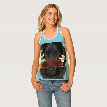 Beach Themed Newfoundland Dog Beach shirt