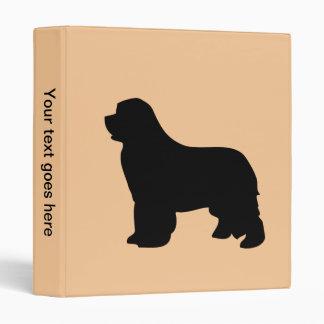 Newfoundland dog binder folder photo album