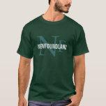 Newfoundland Dog Breed/Dog Lovers Initials Shirt