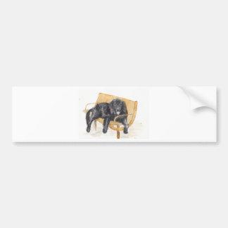 Newfoundland Dog Bumper Sticker