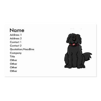Newfoundland Dog Business Card