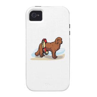 NEWFOUNDLAND DOG VIBE iPhone 4 CASE