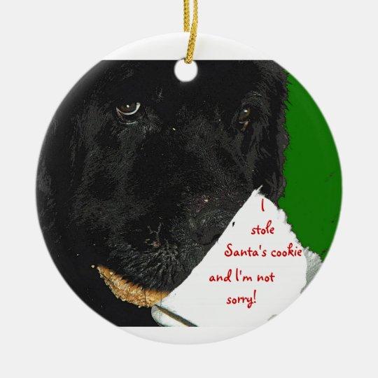 Newfoundland dog Christmas ornament - Newfoundland Dog Christmas Ornament Zazzle.com