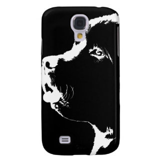 Newfoundland Dog Galaxy S4 Case Newfoundland Pup