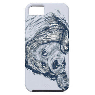 Newfoundland Dog Gift iPhone 5 Case