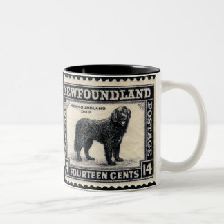 Newfoundland Dog Gifts Two-Tone Coffee Mug