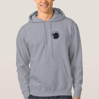 Newfoundland dog hooded sweat shirt