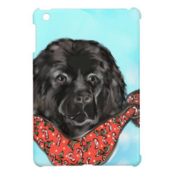 Case Savvy iPad Mini Glossy Finish Case with Newfoundland Phone Cases design