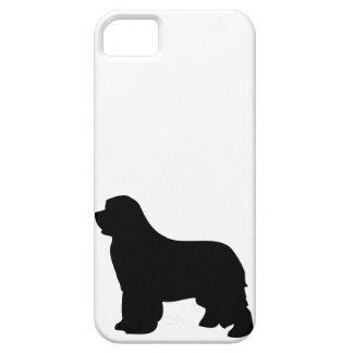 Newfoundland dog iphone 5 case barely silhouette