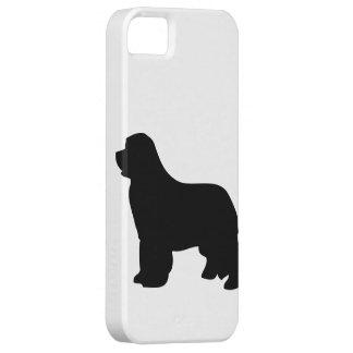 Newfoundland dog iphone 5 case id black silhouette