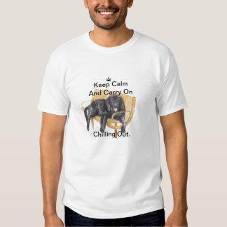 Newfoundland Dog Keep Calm Shirt