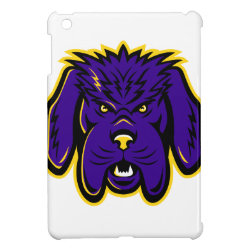 Newfoundland Dog Mascot Angry Case For The iPad Mini