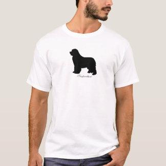 Newfoundland dog mens t-shirt, silhouette T-Shirt