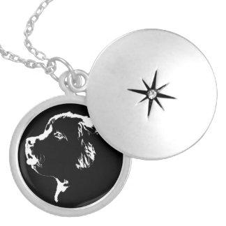 Newfoundland Dog Necklace Dog Art Jewelry Gifts